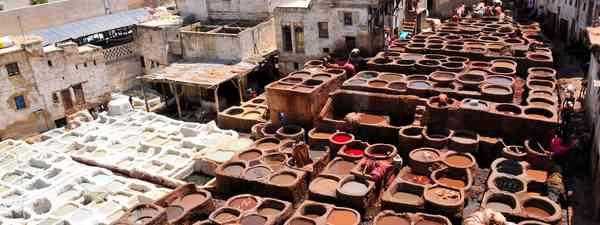 Shopping in Marrakech, Morocco (Lyn Hughes)