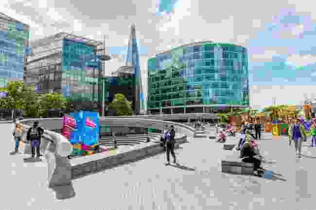 The Scoop, London Bridge City. (Dreamstime)