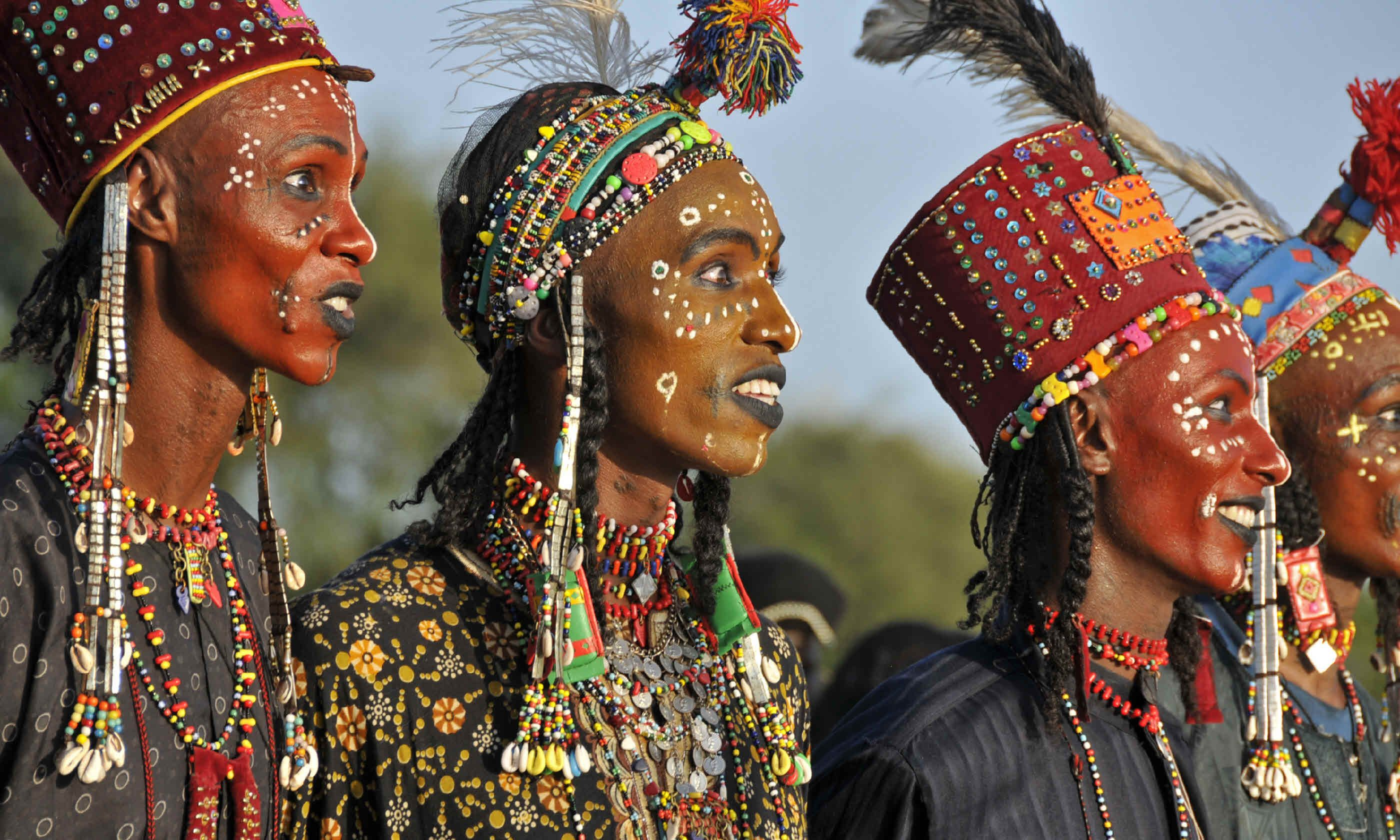 Gerewol Festival, Chad (Native Eye)