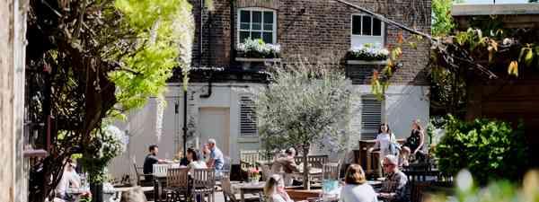 The best pub gardens in London