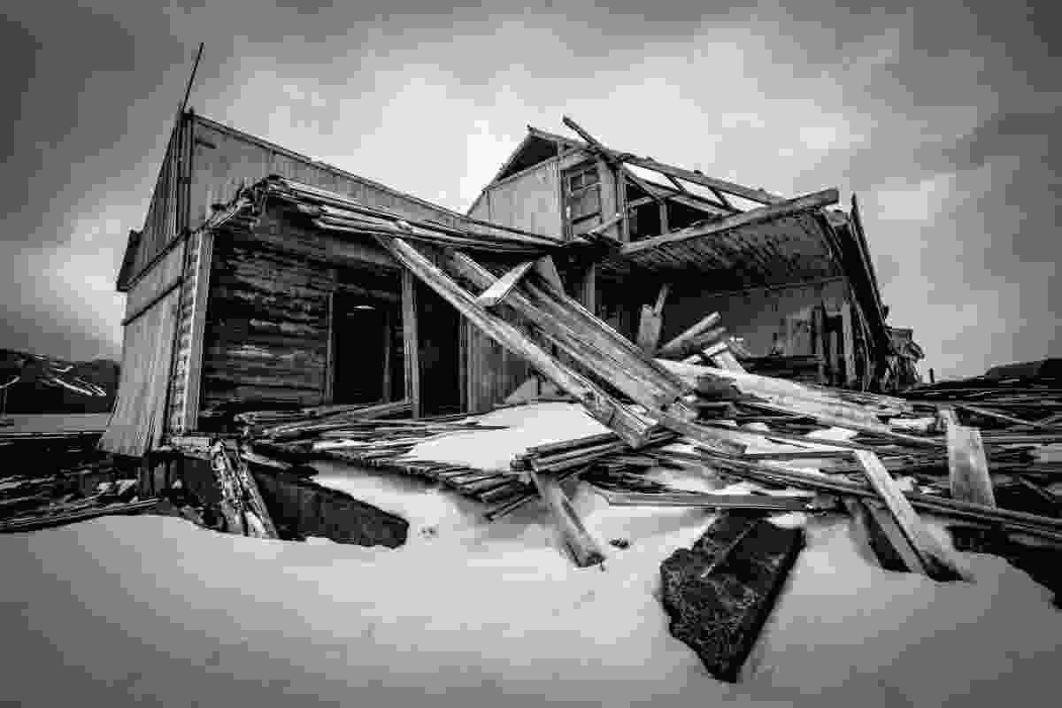 Ruins on Deception Island (Alesha Bradford)