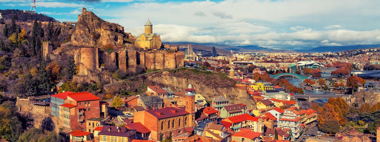 Tbilisi at sunset (Dreamstime)