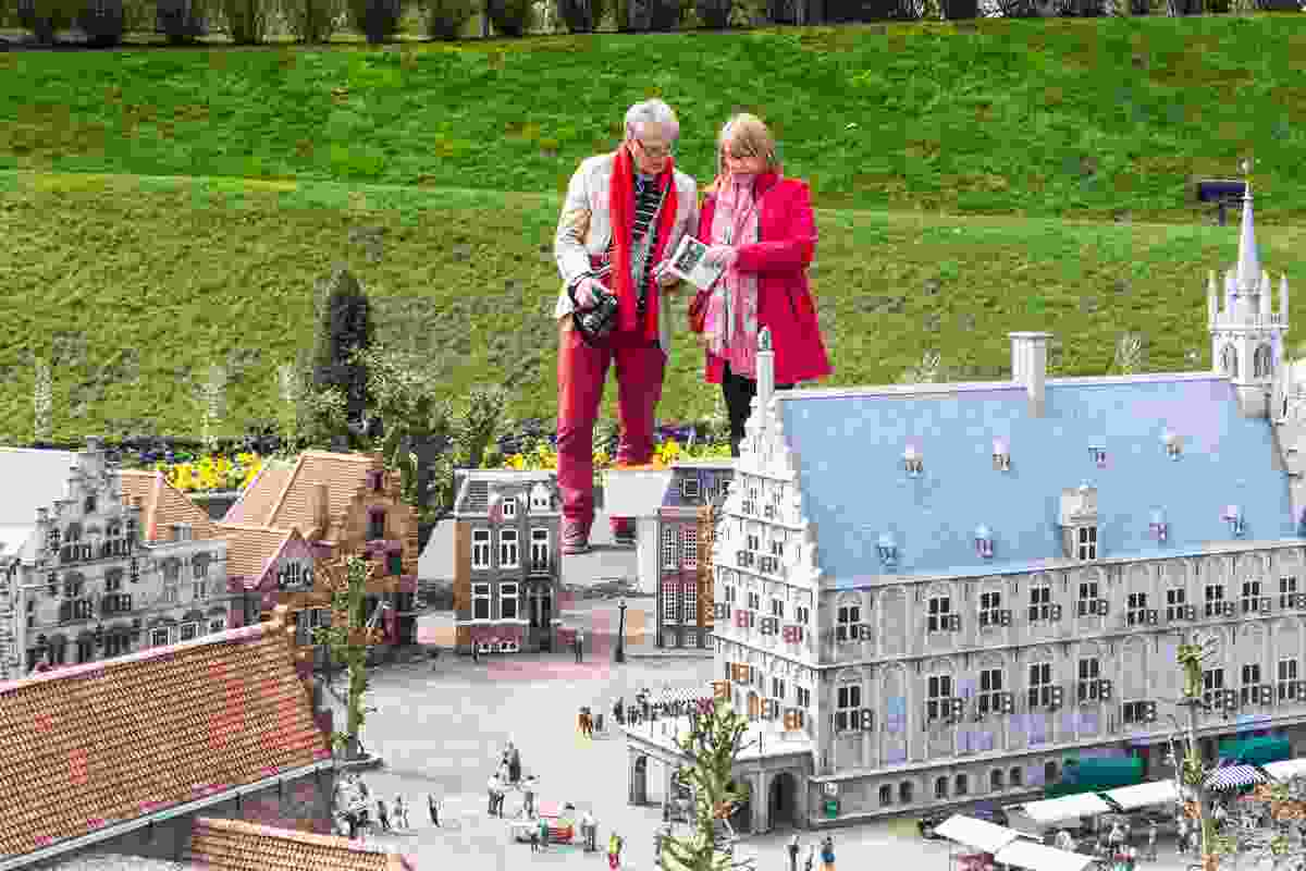 Madurodam is full of miniature replicas of famous buildings, towns and cities in the Netherlands (Dreamstime)