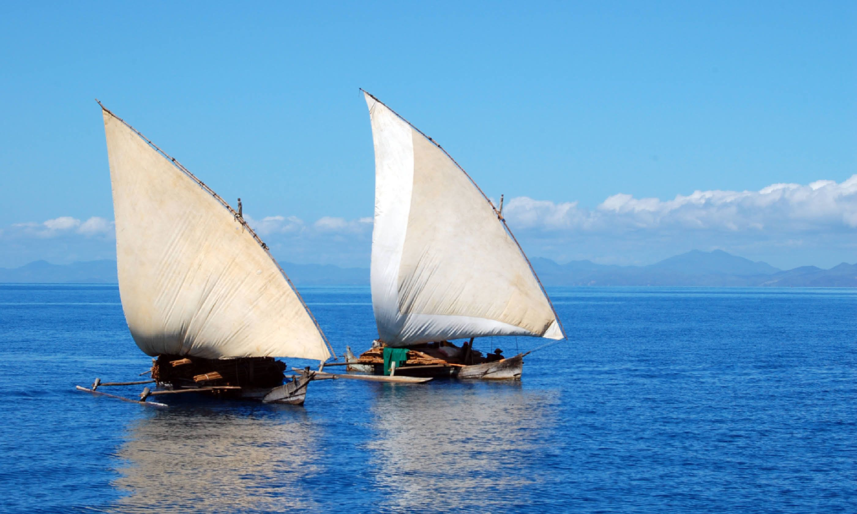 Traditional dhow boats, Mozambique (Shutterstock)