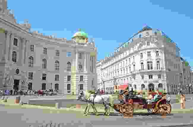 Hofburg Palace in Vienna, Austria (Dreamstime)
