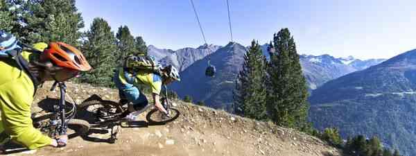 Downhill Teaere line (Anton-Brey)