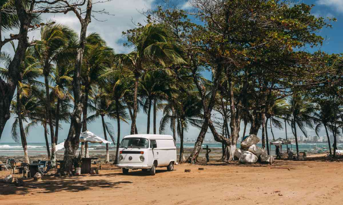 Campervan in San Salvador, Brazil (Shutterstock)