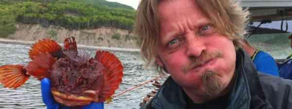 Charlie and the puffa fish (Big Earth)