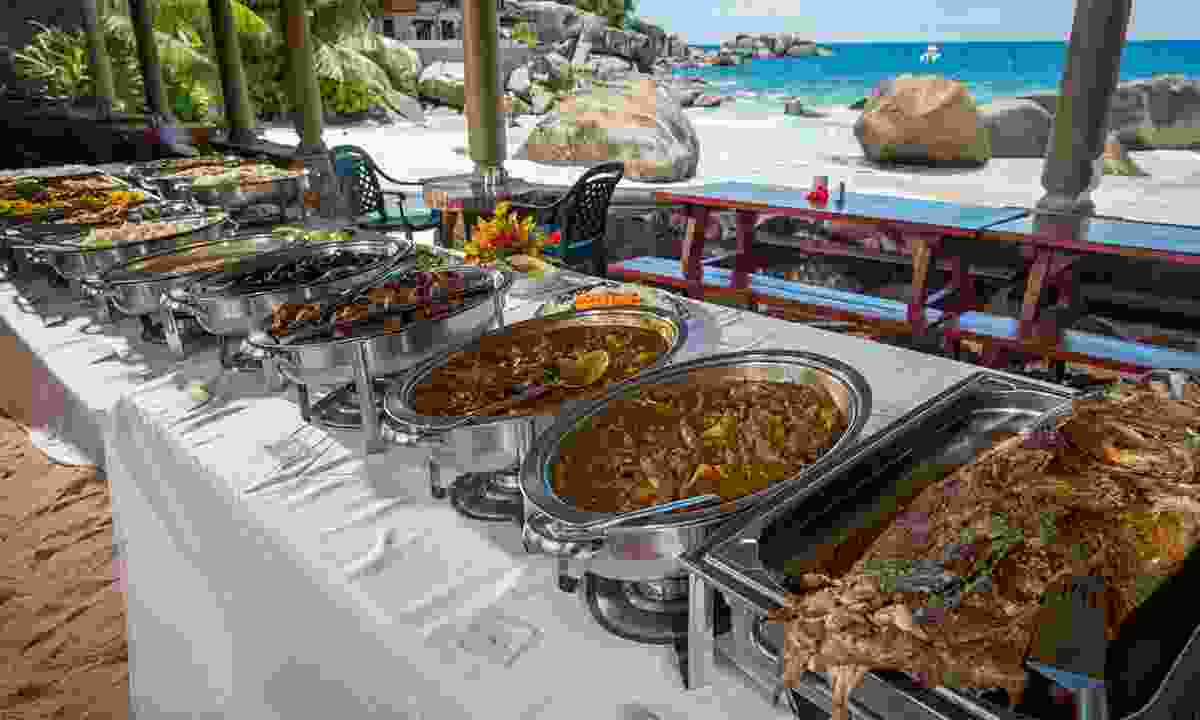 Creole buffet (Seychelles Tourism Board/Chris Close)