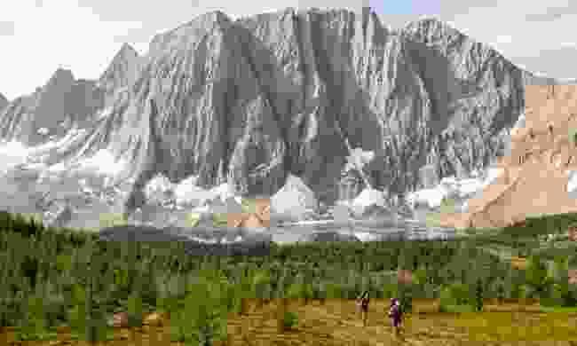 Hikers on the Rockwall Trail (Destination BC/Kari Medig)
