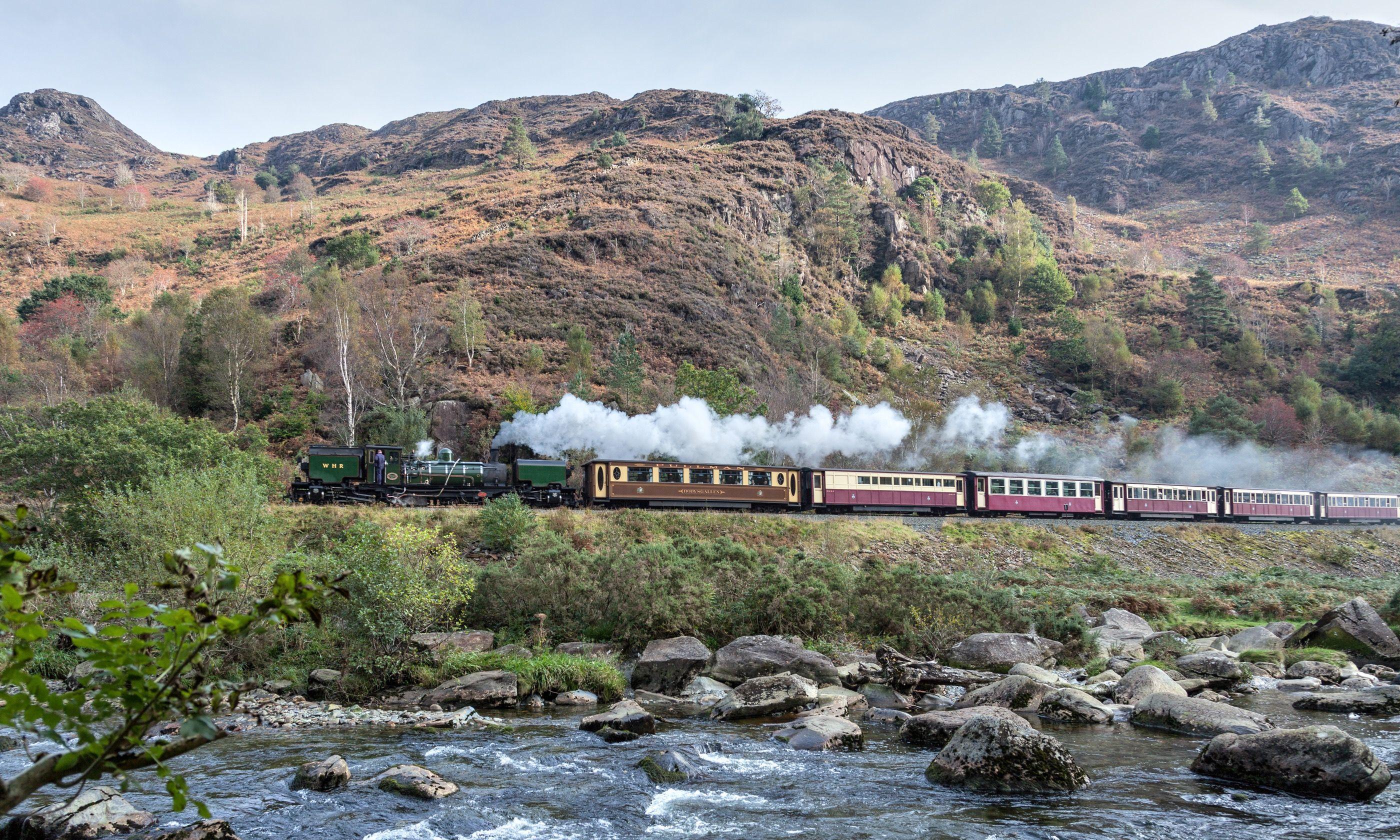 The Welsh Highland Railway (Shutterstock.com)