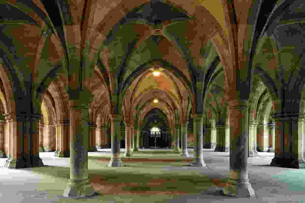 Inside Glasgow University (Shutterstock)