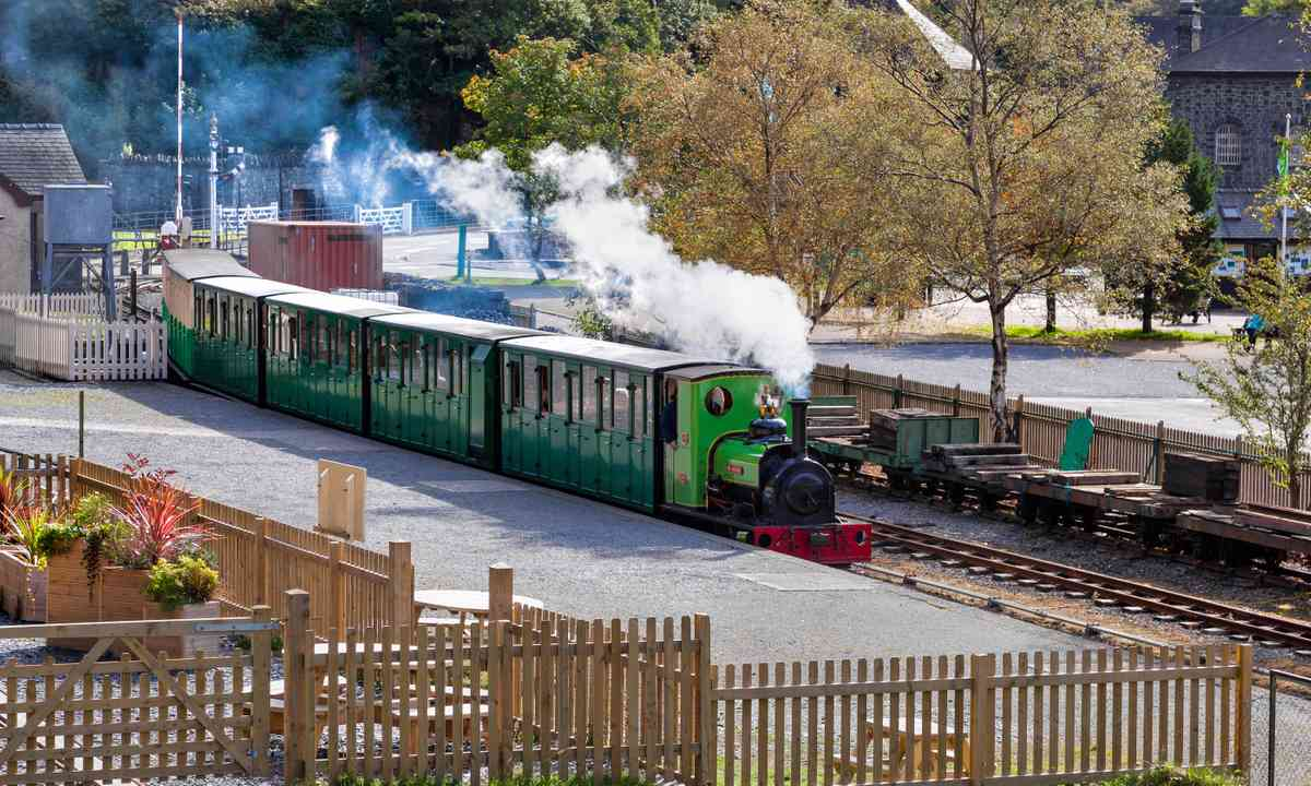 Llanberis Lake Railway (Shutterstock.com)