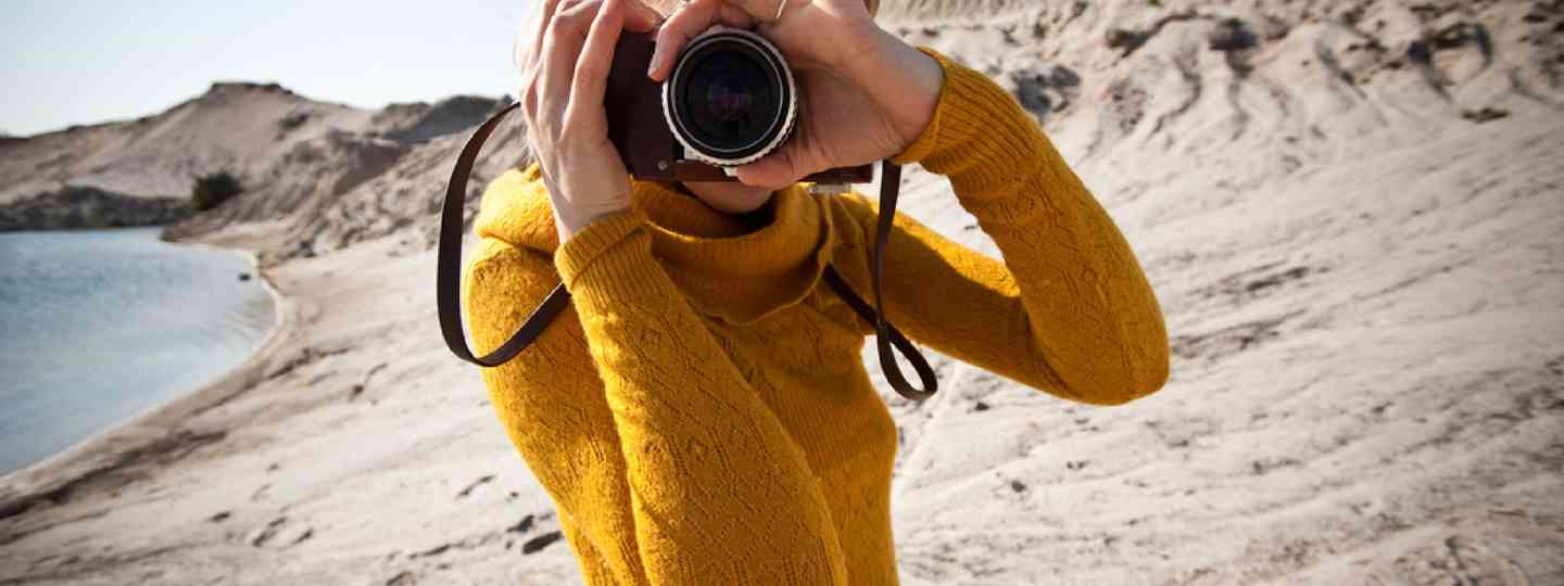Taking photos in the desert (Shutterstock: see credit below)