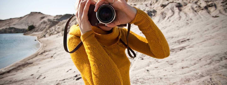 Taking photos in the desert (Shutterstock: see credit below)