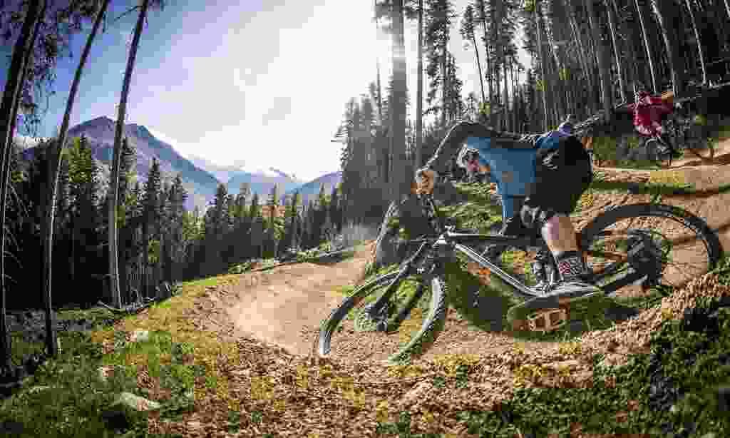 Downhill biking in Ötztal (Ötztal Tourismus/ Sebastian Schieck)