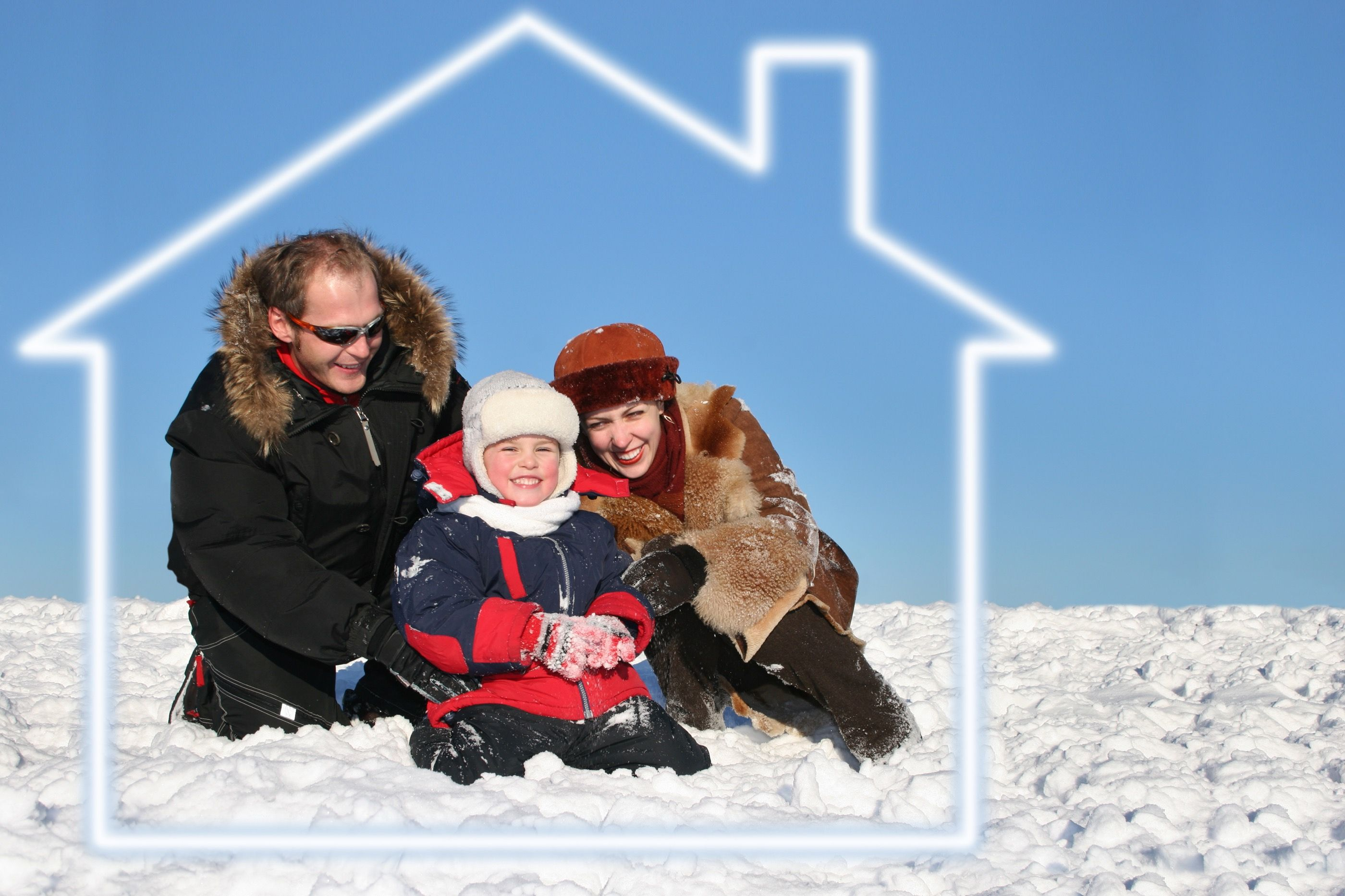 A roof over your head this Christmas (Dreamstime)