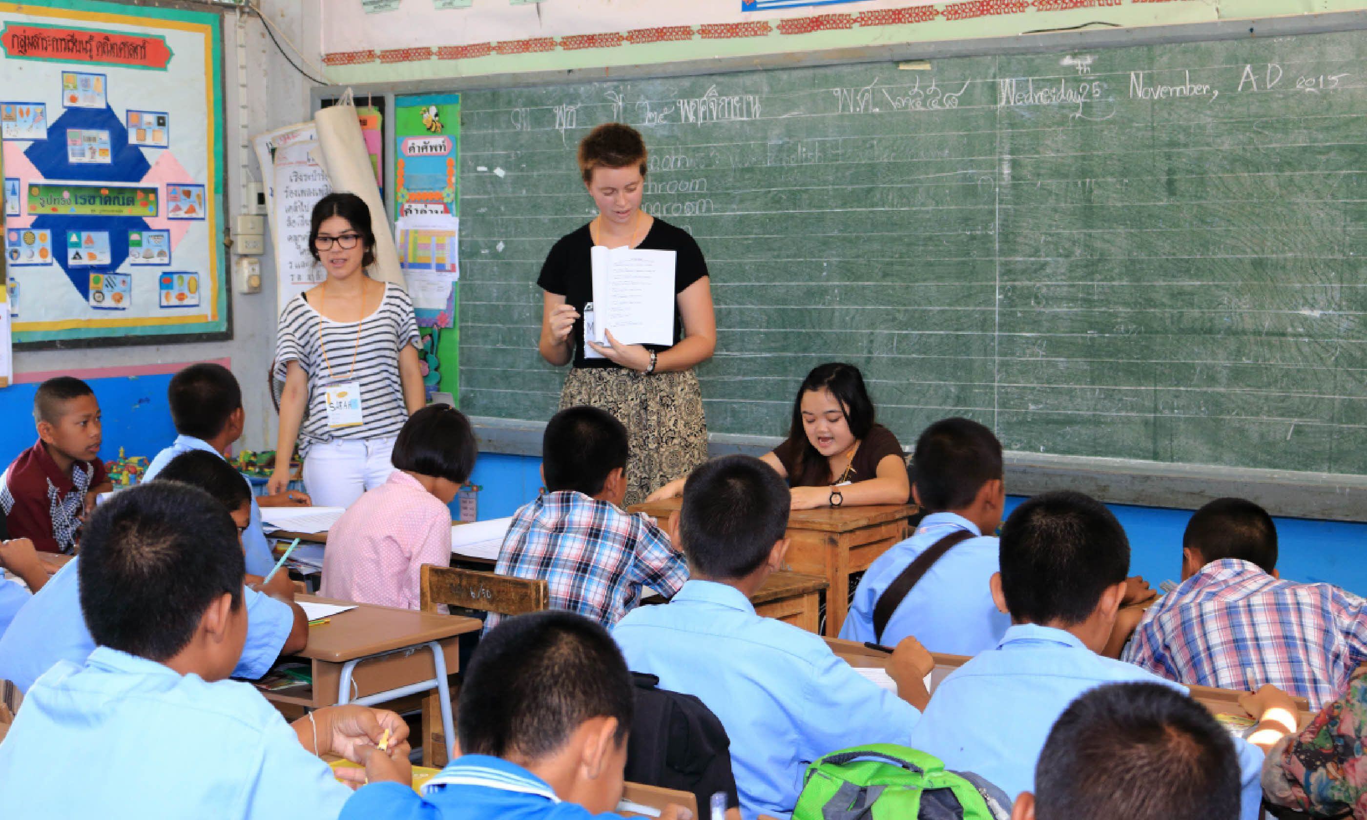 Teaching English in Korat, Thailand (Shutterstock)