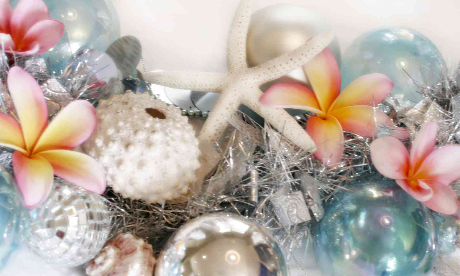 Tropical Christmas decorations (Dreamstime)