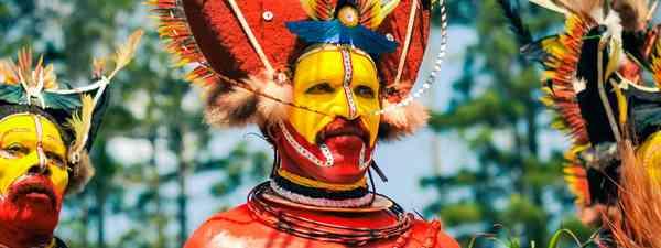 Tribal peoples, Papua New Guinea (Jonnie Hughes)