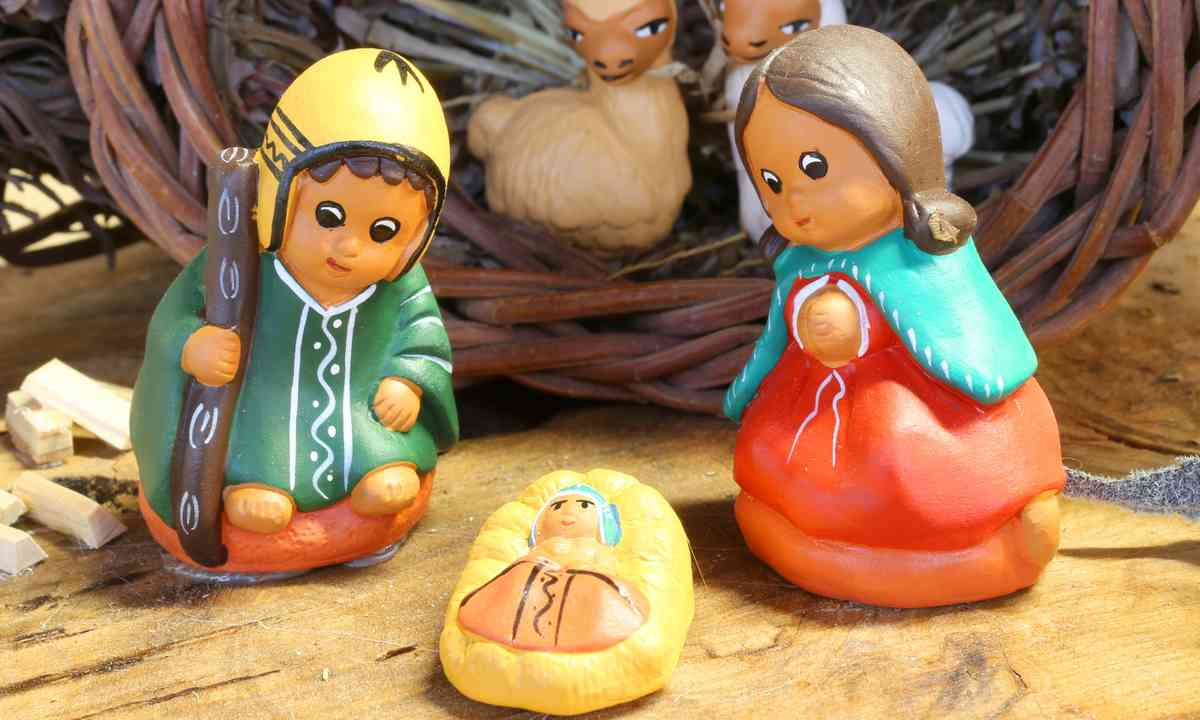 Nativity scene from Peru (Dreamstime)