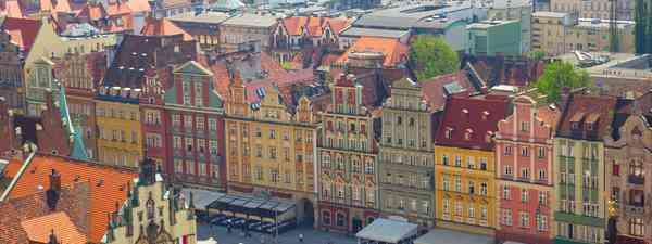 Rynek G?ówny, Kraków, Largest medieval town square in Europe (daveurz)