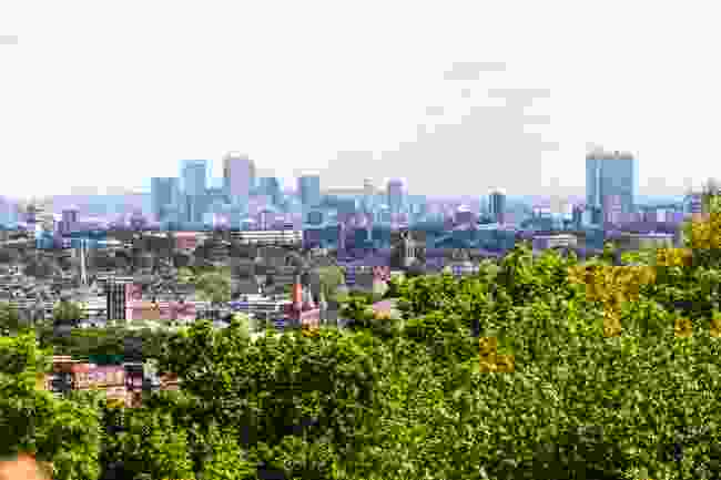 The view from Parliament Hill, Hampstead Heath. (Dreamstime)