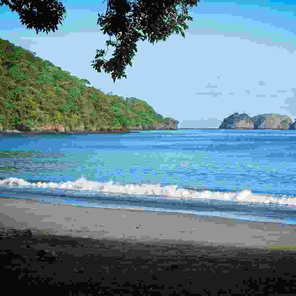 Costa Rica's relaxing beaches