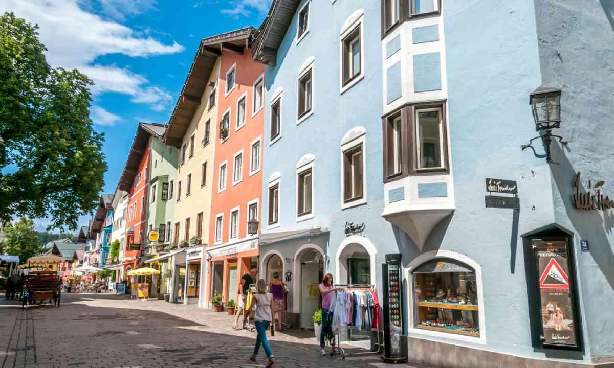 Kitzbühel town (Shutterstock)
