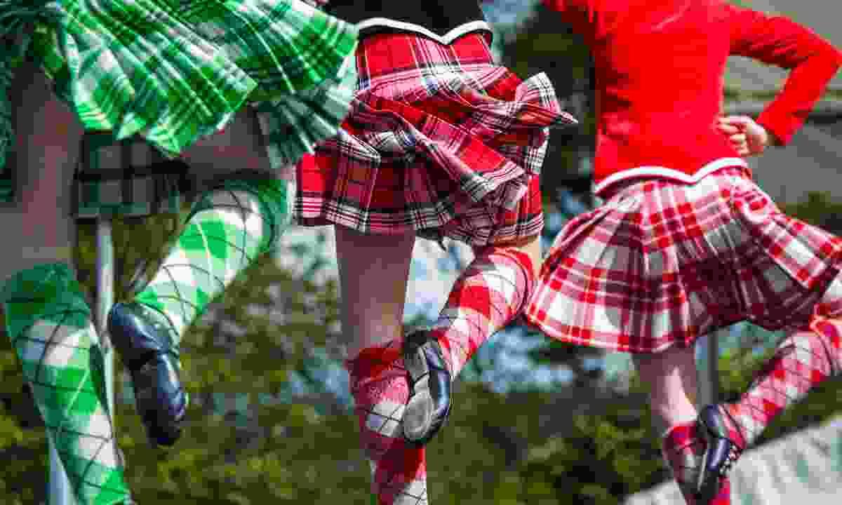 Traditional Scottish Highland dancing (Shutterstock)