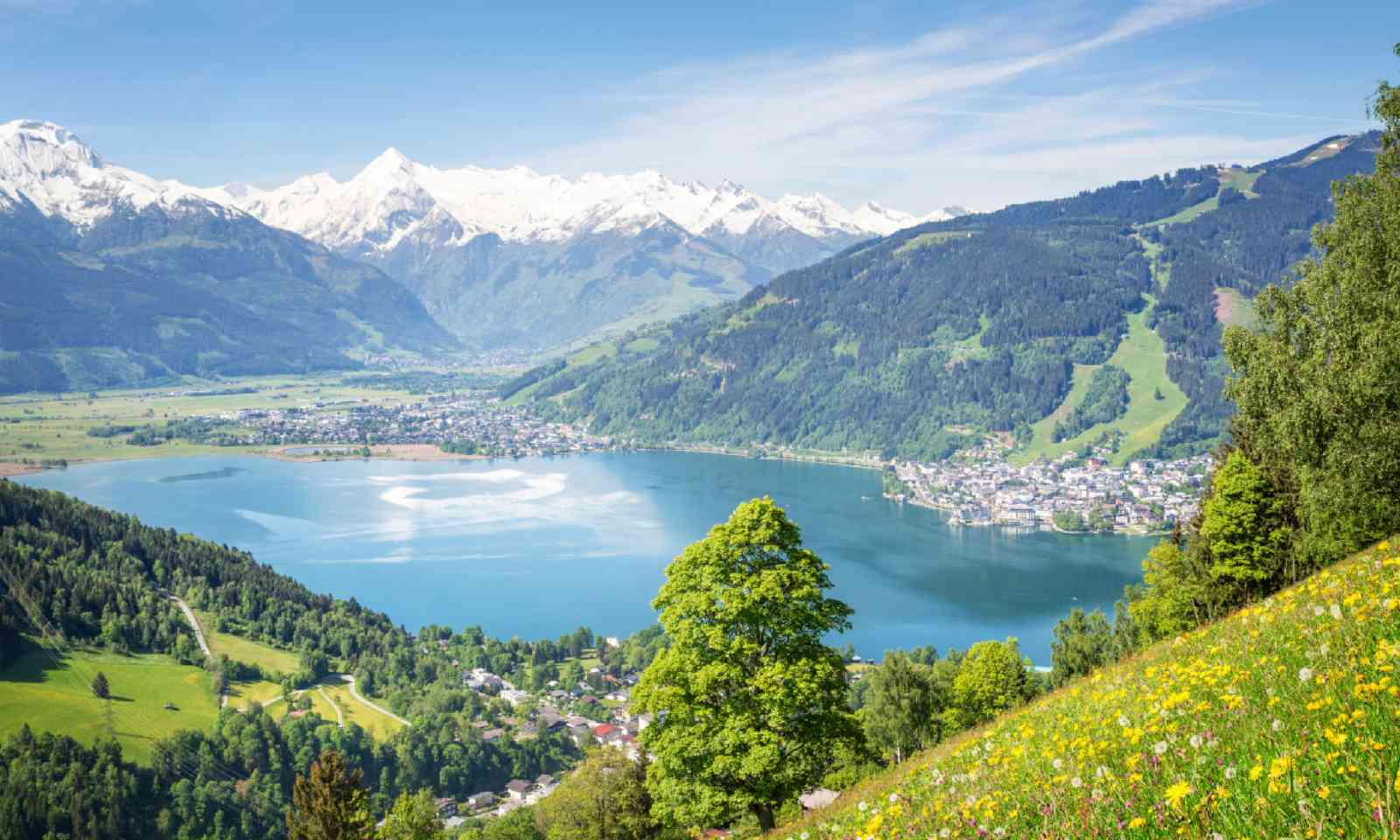 View over Zell am See (Shutterstock)