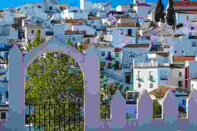 The town of Comares (Shutterstock)
