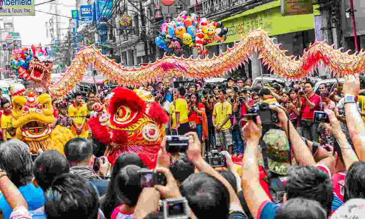 Chinese New Year in Manila (Shutterstock)