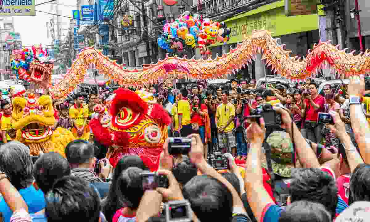 Chinese New Year in Manila (Shutterstock)