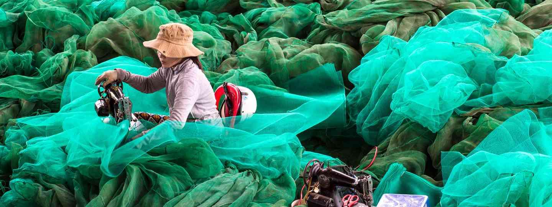 Mending Fishing Nets (Alan O'Riordan - Finalist, Exposure Awards 2017)