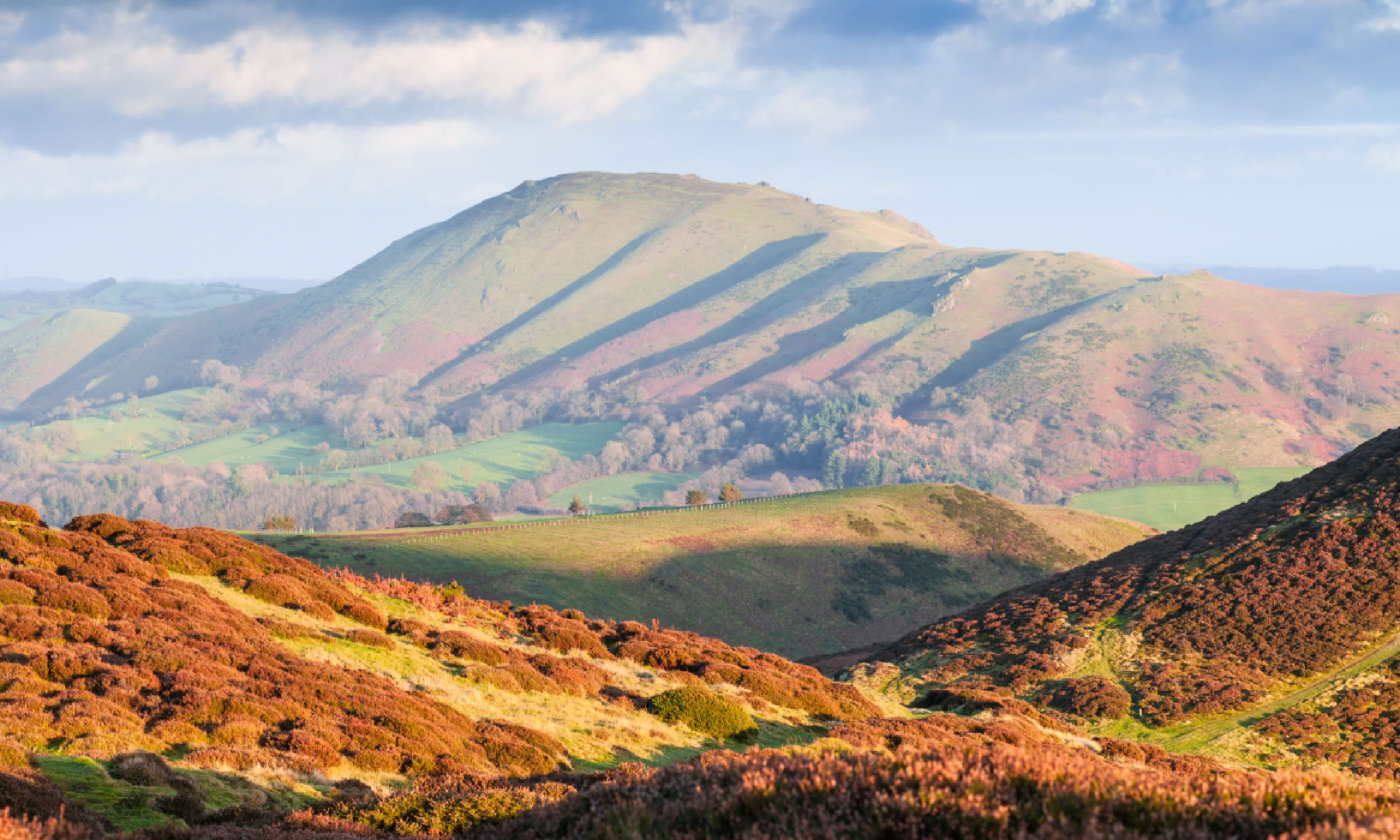 Carding Mill Valley in Church Stretton (Shutterstock)