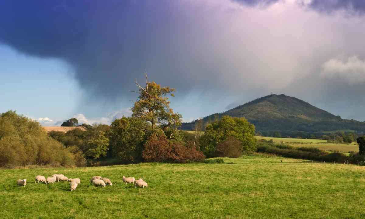 Gathering storm over the Wrekin (Shutterstock)