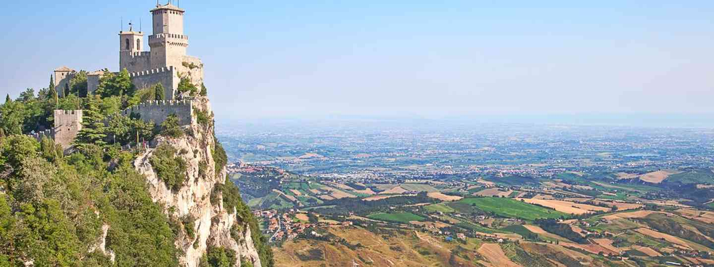 San Marino city view (dreamstime.com)