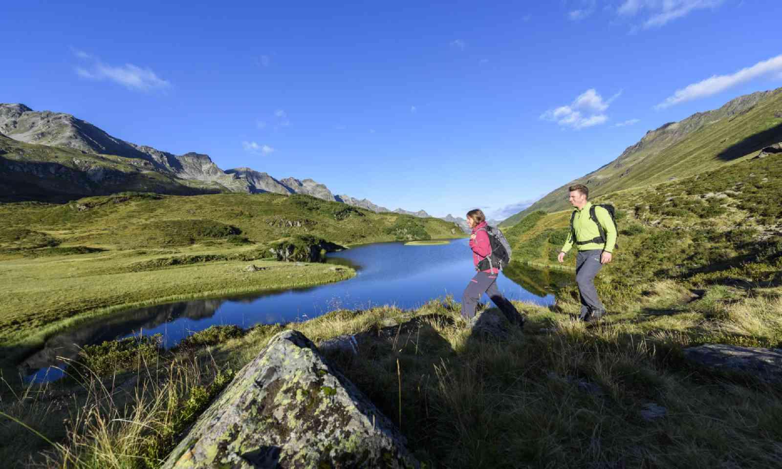 Walking in St. Anton am Arlberg