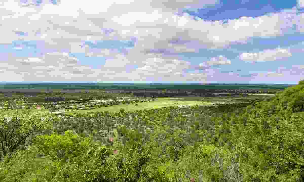 Landscape view over Hwange National Park in Zimbabwe (Dreamstime)