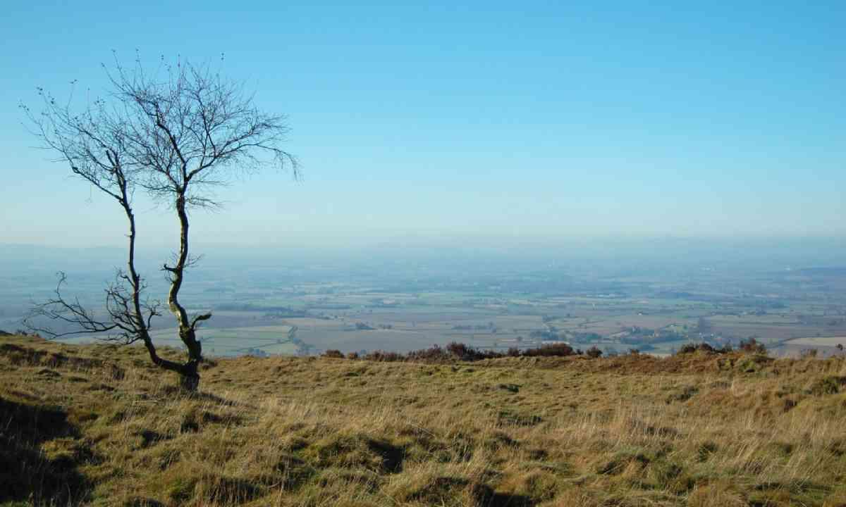 View from the top of the Wrekin – should you choose to climb it... (Shutterstock)