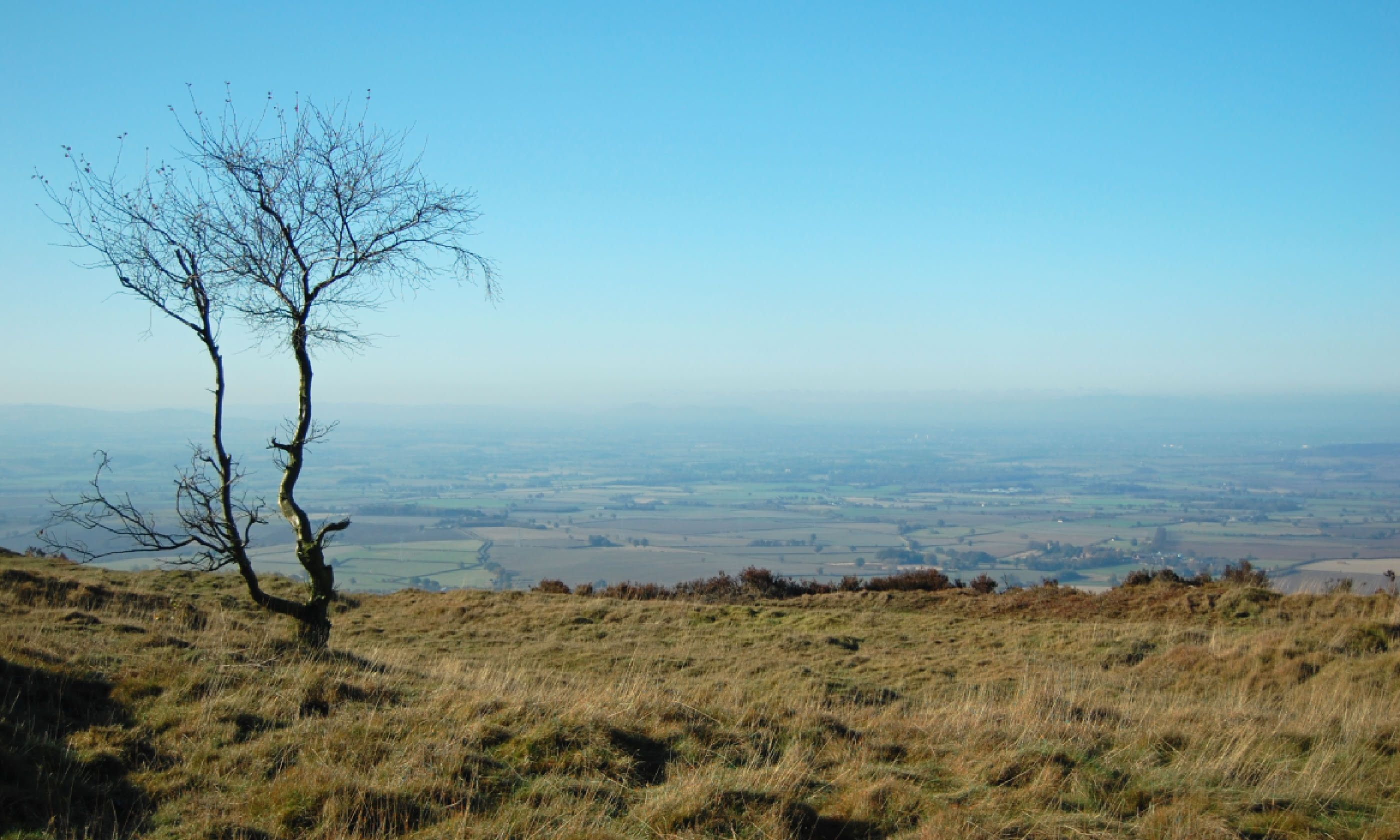 View from the top of the Wrekin – should you choose to climb it... (Shutterstock)