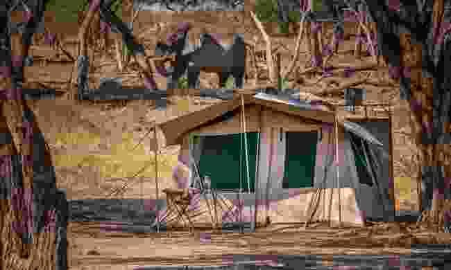 A safari tent in Botswana (Shutterstock)