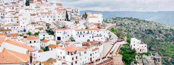The village of Comares is one of the highest in Andalucía (Shutterstock)