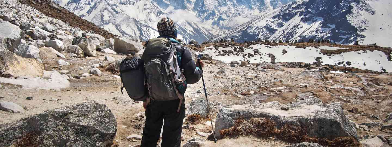 Trekking near Everest Base Camp (Dreamstime)