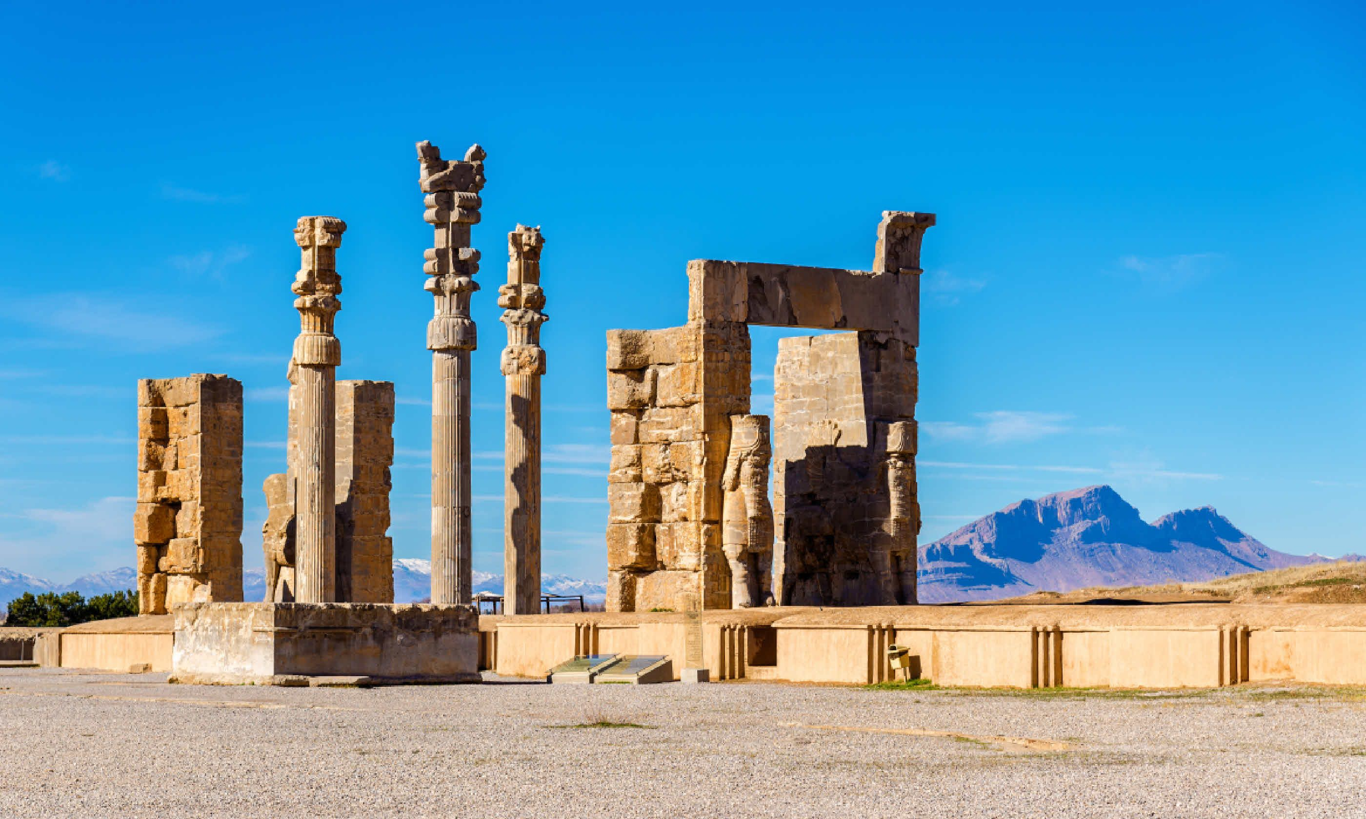 Gate of All Nations in Persepolis (Shutterstock)