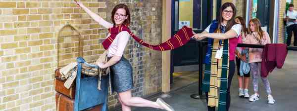 Heading off to Hogwarts (Dreamstime)