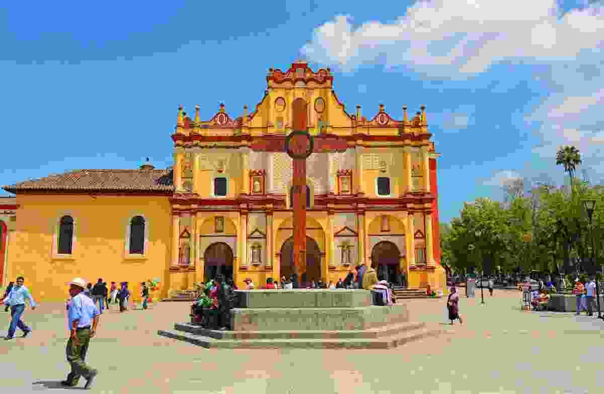 The Cathedral of San Cristóbal de las Casas in Chiapas, Mexico (Shutterstock)