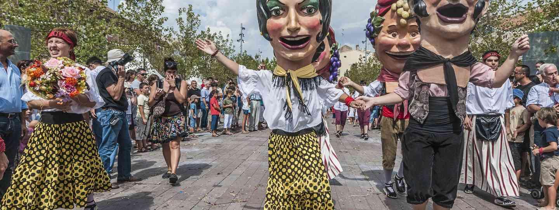 Celebrating the harvest in Vilafranca del Penedès (Shutterstock.com)