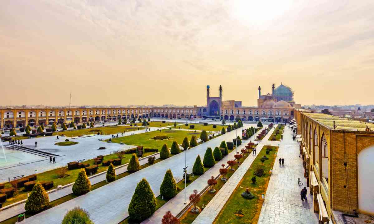 Imam Square in Isfahan (Shutterstock)